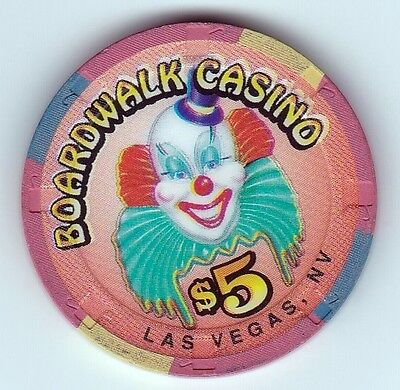 $5 Boardwalk Casino Las Vegas, Nv Casino Chip-H&c Mold