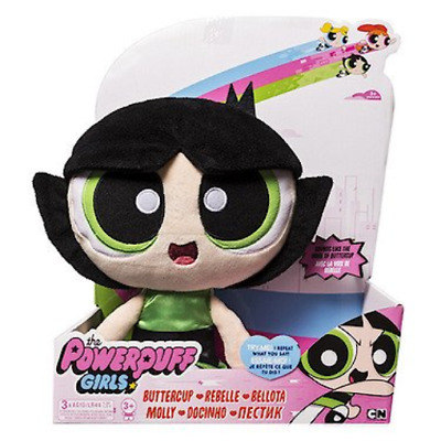 Powerpuff Girls Interactive Plush - Buttercup