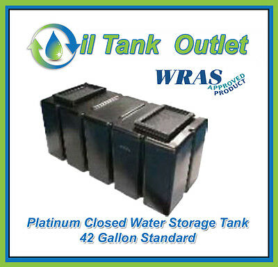 Closed  Water Storage Tank 42 Gallon Standard  - WRAS Approved