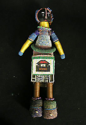 Ndebele Fertility Doll 2, Traditional And Older Example