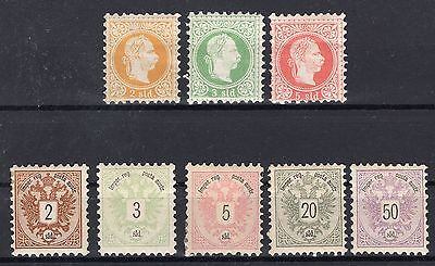 Austria Office In Turkey Collection Mint Hinged