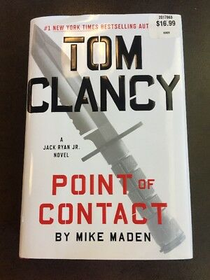 "Tom Clancy ""Point of Contact"", A Jack Ryan Novel by Mike Maden (2017, Hardcover)"