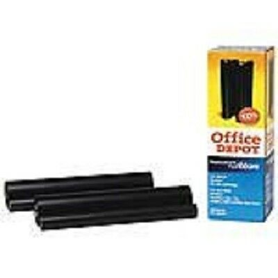 Office Depot Compatible Refill Rolls,Pack Of 2,(40B-2) NEW  Fax Ribbon