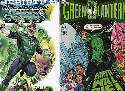 Two-Issue Lot! Green Lantern #75 + Hal Jordan And The Green Lanterns Corps #1