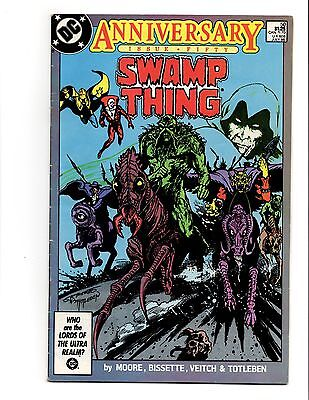 Swamp Thing 50 Alan Moore 1St Appearance Justice League Dark Key