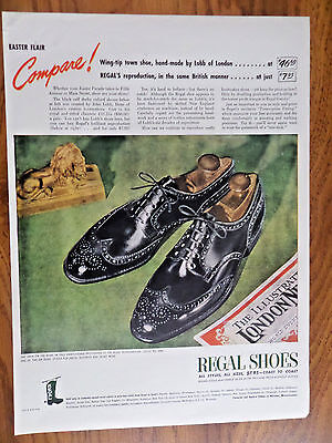 1947 Regal Shoes Ad  Easter Flair