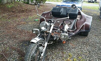 1982 Custom Built Motorcycles Other  1982 VW Trike,rare steering wheel option side by side seating 9 speed trans ?