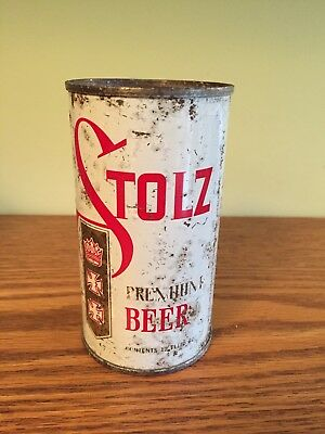 Stolz Premium Beer Flat Top Beer Can, Buffalo, NY