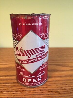 Schwegmann Brothers Premium Light Beer Pull Tab Beer Can, Cumberland, MD
