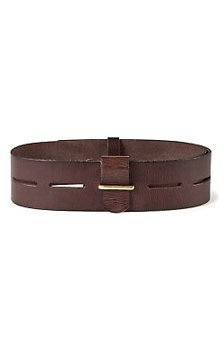 """CAbi New Genuine Leather Waist or Hip Belt """"Here Or There"""" -Medium NWT"""