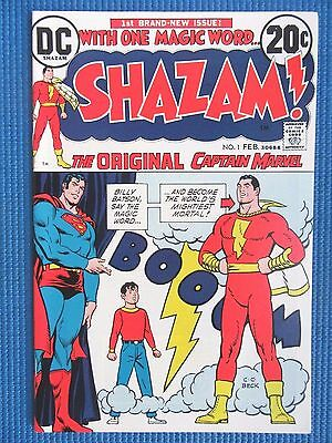 Shazam # 1 - (Nm+) - The Original Captain Marvel - Movie (2020) - High Grade