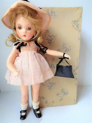 "Rare 1930s Madame Alexander Wendy Ann 13"" Composition Doll Glamour Girl Swivel"