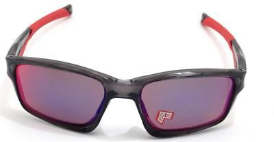 New Oakley Sunglasses Chainlink Grey Smoke OO Red Iridium Polarized oo9247-10
