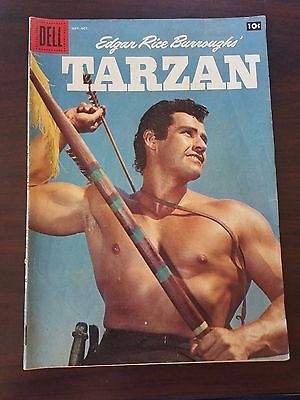 Edgar Rice Burroughs' Tarzan #108 (Sep-Oct 1958, Dell)