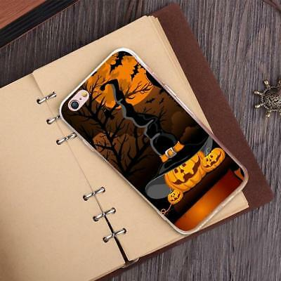 Hallowmas Pumpkin Lamp Pattern TPU Shockproof Soft Case Cover for iPhone 7Plus