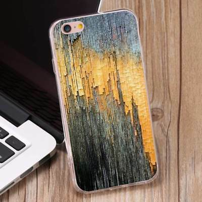 Pretty Wood Colour Pattern Shockproof Soft TPU Phone Case Cover for iPhone 7Plus