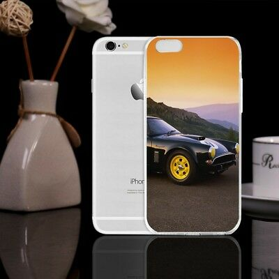 Luxury Car Sunset Pattern Shockproof Soft TPU Phone Case Cover for iPhone 7Plus