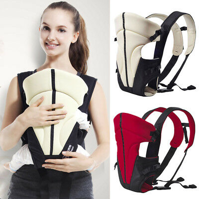 Infant Newborn Adjustable Ergonomic Baby Carrier Sling Wrap Rider Front Backpack