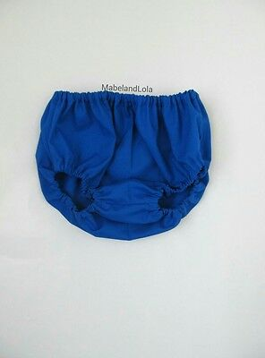 Baby Boys Girls Diaper Cover Bloomers (NB - 24 mo) Solid ANY Color