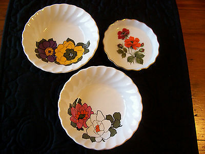 Small Vintage Myott Dishes x 2 and small Westminster Dish x 1