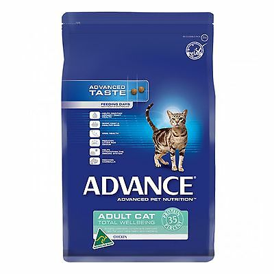 Advance Cat Total Wellbeing Chicken 8kg Dry Cat Food