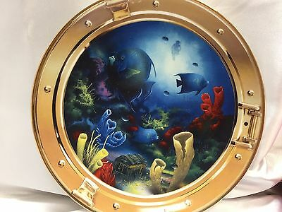 Royal Doulton Treasures of Sea by Miller Franklin Mint Decorative Plate China