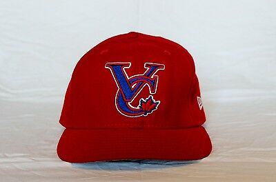 Vancouver Canadians #24 Game Used Hat. Early to mid 2000's