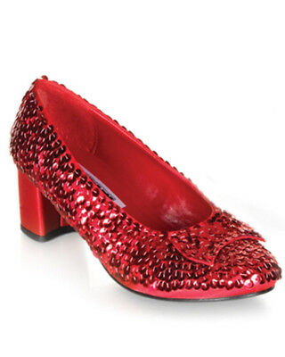 Magical Red Sequin Dorothy Womens Shoes