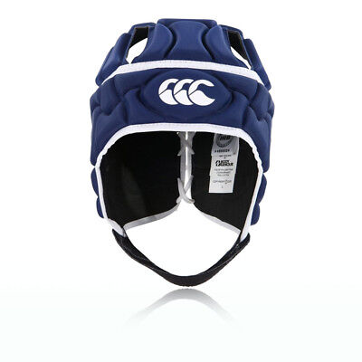 Canterbury Club Plus Junior Blue Headguard Rugby Sports Protective Hat
