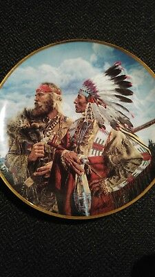 American Indian Franklin Mint Plate