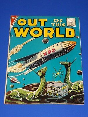 Out Of This World #1 Vg/fn (1956 Charlton)