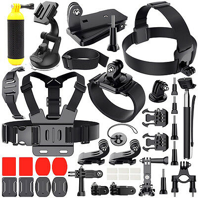 Outdoor Sports Accessories Kit for Gopro hero 7 6 5 Session 4 3+ /SJCAM/SOOCOO