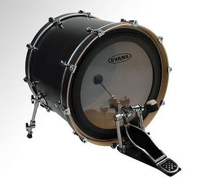 """Evans EMAD 2-ply 22"""" Clear Bass Drum Head"""