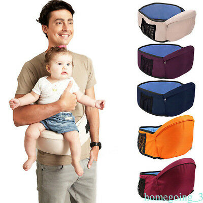 Baby Girls Boys Kids Adjustable Waist Belt Hip Seat Chair Toddler Front Carrier