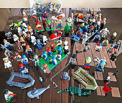 LEGO Minifigure Bulk LOT (minifigs) Police Criminals Toy Story Star Wars Civil