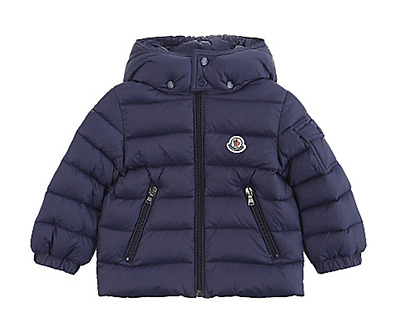 Moncler Kids Jules Down Padded Navy Jacket 18-24 Months