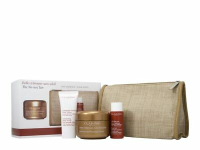Clarins Self Tanning Cream 125ml Body Care Gift Set For Her Women New