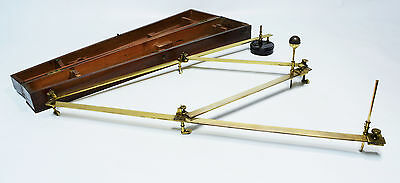 Antique lacquered brass pantograph by William Harris of London, circa 1800