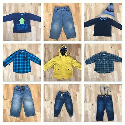 Bundle baby boys clothes age 18-24 months free postage