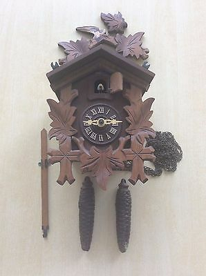 Vintage Black Forest Regula Cuckoo Clock Restoration / Spares & Repairs Untested