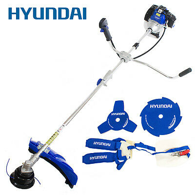 Hyundai 52cc Petrol Grass Strimmer and Brushcutter Engine Inc Accessory Kit