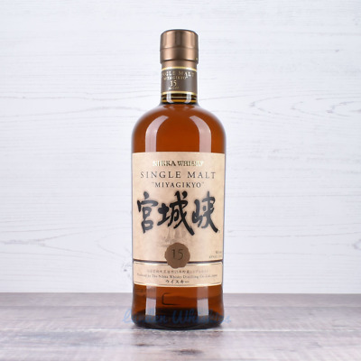 Nikka Miyagikyo 15 Year Old Single Malt Japanese Whisky 700ml *Discontinued