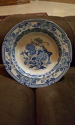 Blue & White Mason's Patent Ironstone Bowl