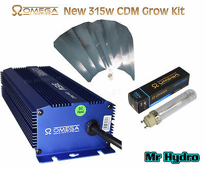 Dimmable OMEGA 315w CDM CMH Ceramic Metal Halide Grow Kit