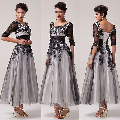1950S Vintage LACE Up Masquerade Ball Gown Bridesmaid Prom Dresses Evening Party