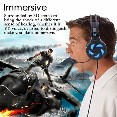 Gaming Headset with Mic 3.5mm PC Stereo Gaming Headset for PS4/PSP/Xbox One S