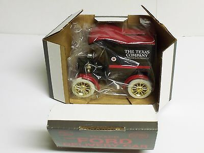 1905 Ford Delivery TEXACO DieCast Meta l#4 in a series cast in 1987 Collectible