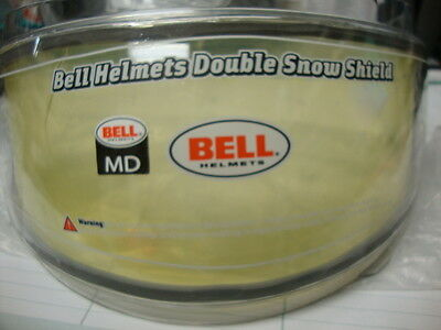 New,Old Stock Bell Double Snow Shield