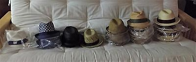 Wholesale lot of 31 men's hats. Free shipping!