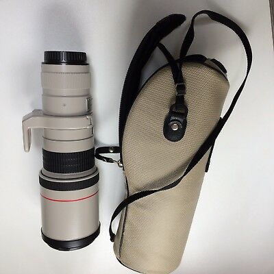 Canon 400mm f5.6 L USM lens with case and protective filter